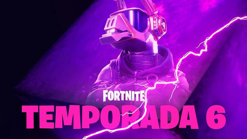 Fortnite Battle Royale temporada 6 muestra un adelanto