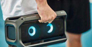 Altavoces portátiles e inteligentes, nueva apuesta de LG