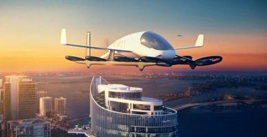 Construyen el primer estacionamiento para autos voladores en Estados Unidos